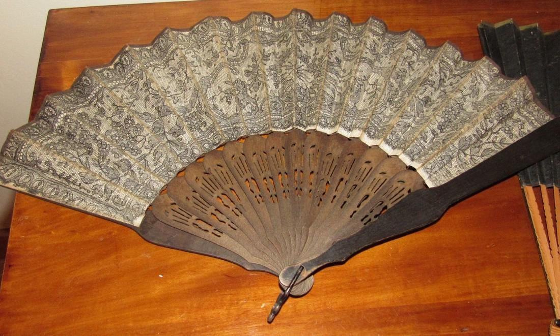 Lot of Hand Fans - 2
