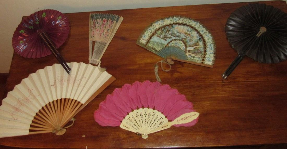 Lot of Hand Fans - 3