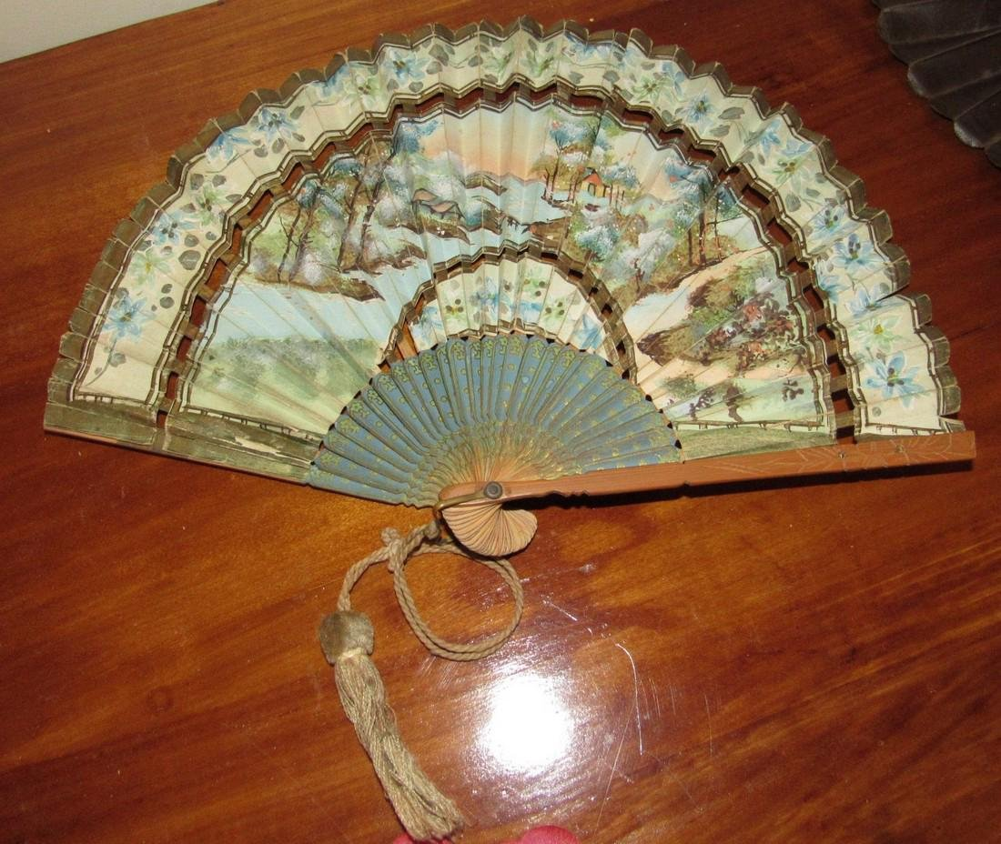 Lot of Hand Fans - 4