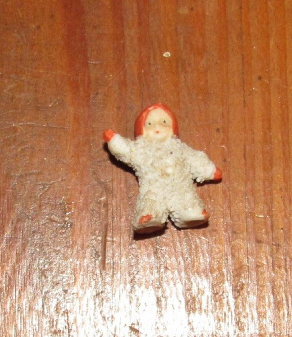 Lot of Bisque Dolls Incl. Snow Baby - 4