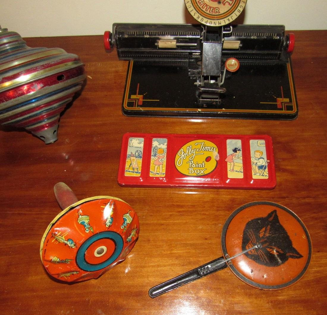 Dial Typewriter Halloween Noisemaker & Top - 2