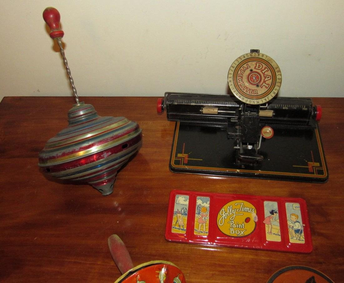 Dial Typewriter Halloween Noisemaker & Top - 3