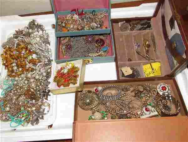 Costume Jewelry Lot Necklaces Bracelets