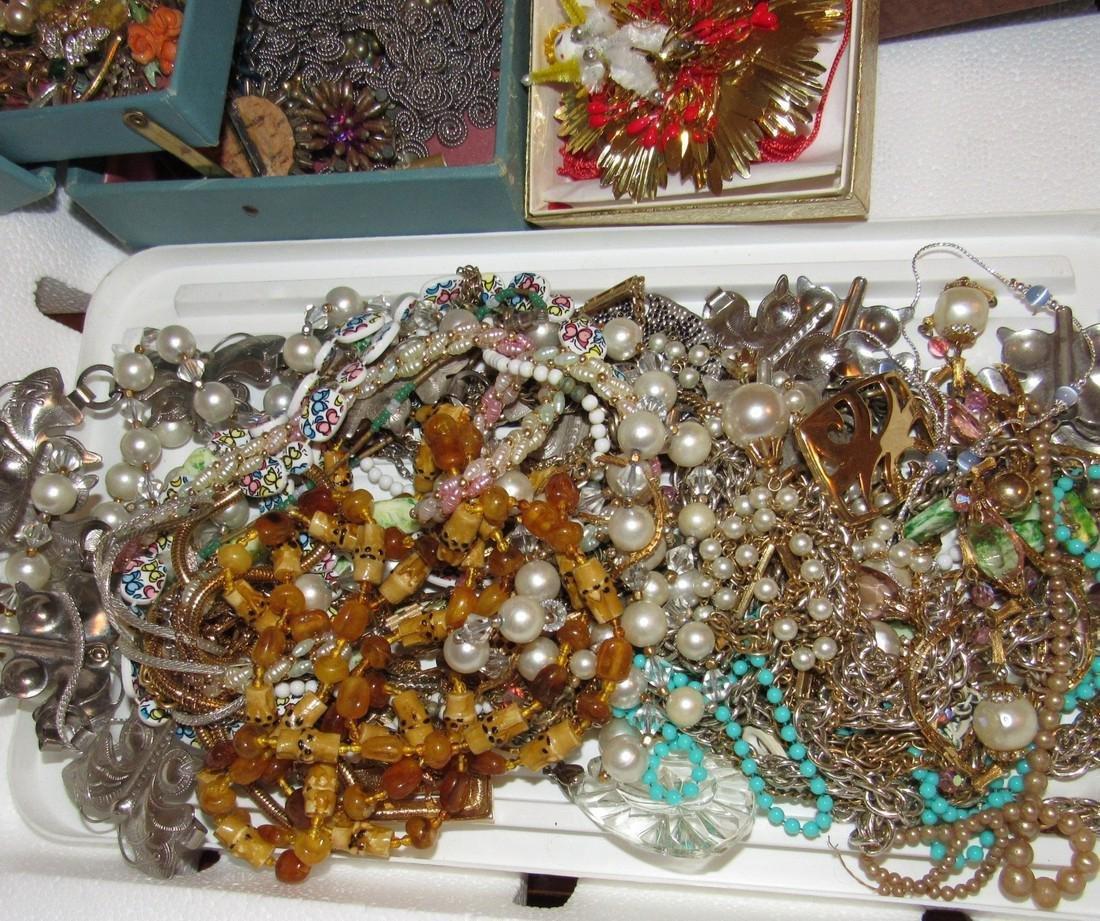 Costume Jewelry Lot Necklaces Bracelets - 5