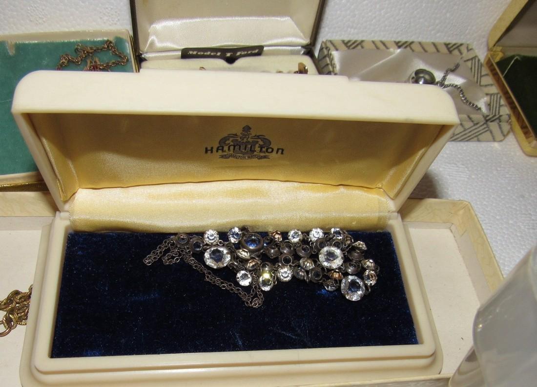 Jewelry Lot Incl Sterling Silver Earrings & Brooch - 8