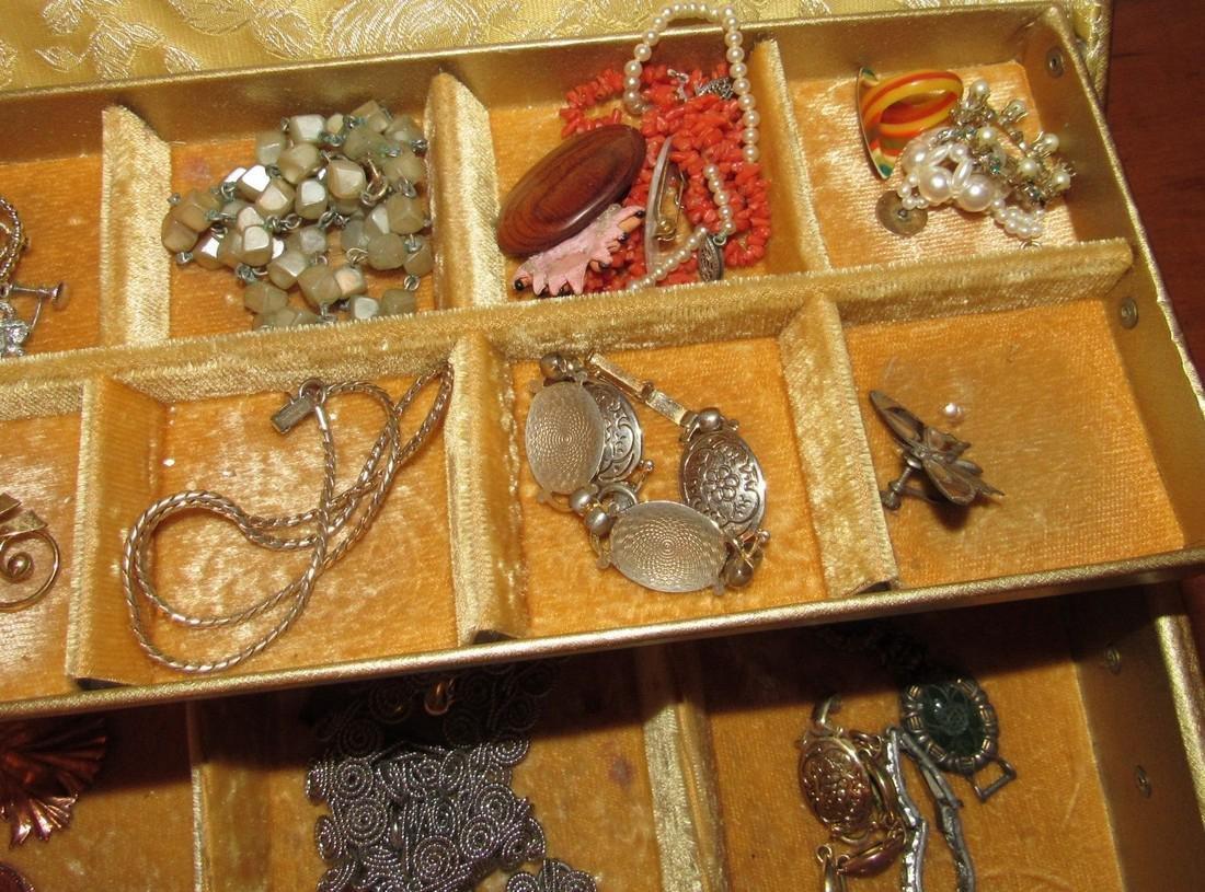 Jewelry Lot Ring Earrings Bracelets Brooches - 5