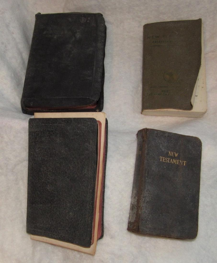 4 Pocket Bibles