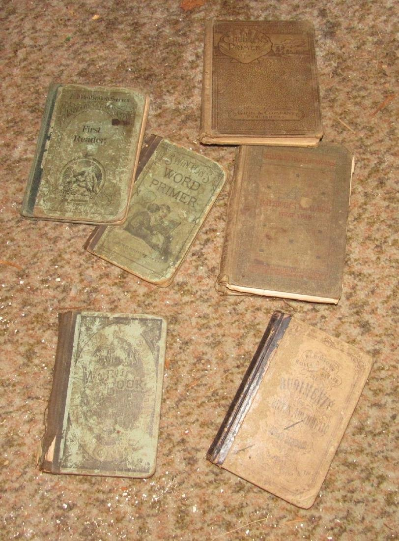 Box full of Antique School Books - 2