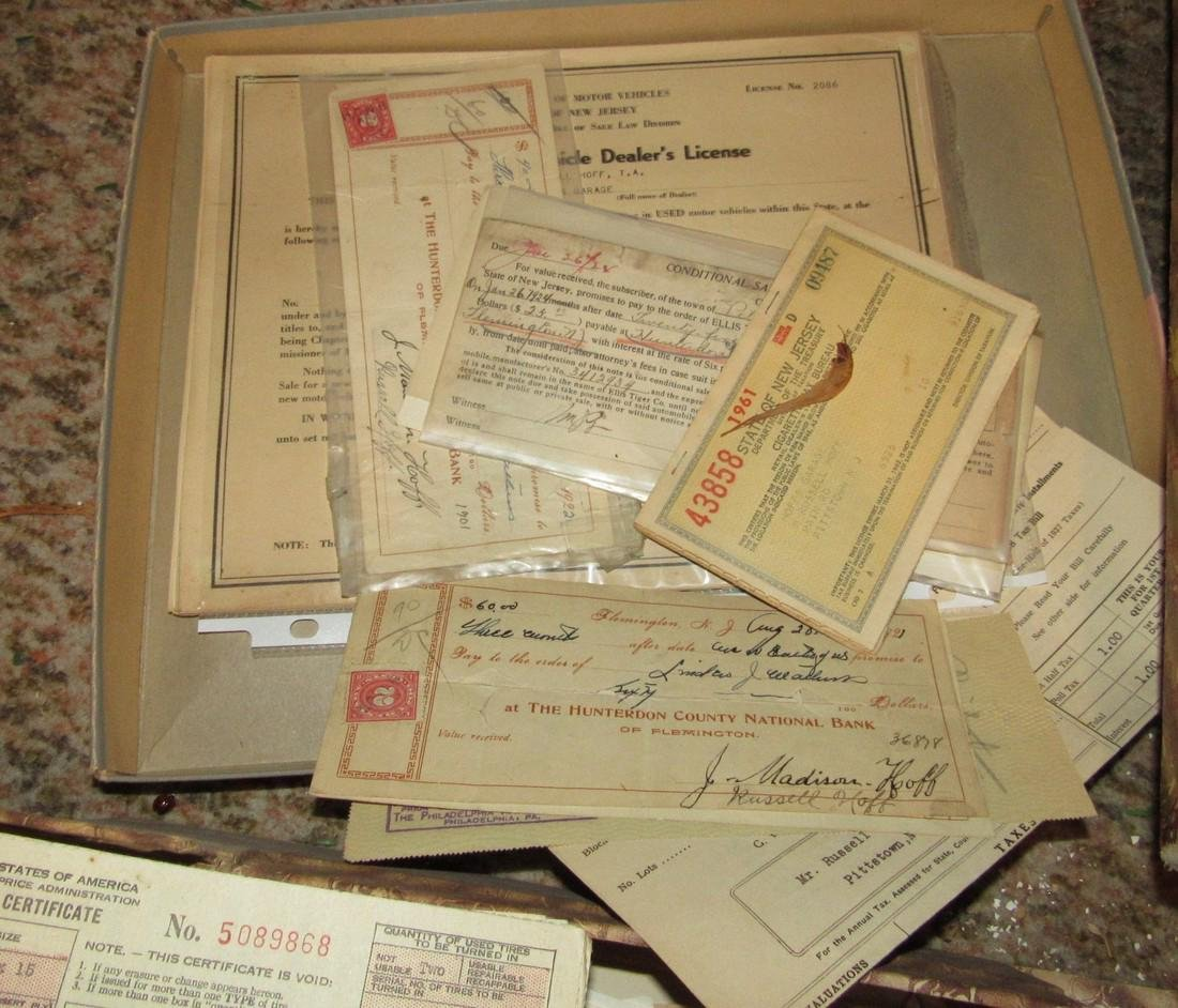 Local Pittstown NJ Business Letter & Bill Heads - 4