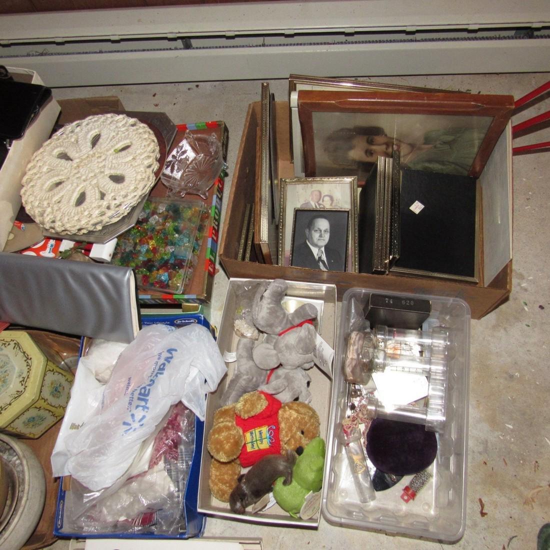 Shelf & Floor Contents Knick Knacks Glassware - 6