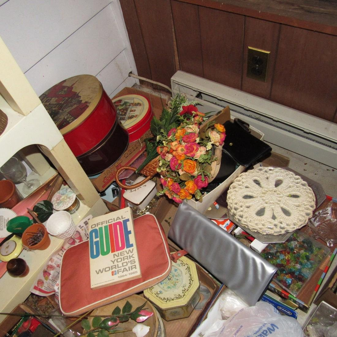 Shelf & Floor Contents Knick Knacks Glassware - 7