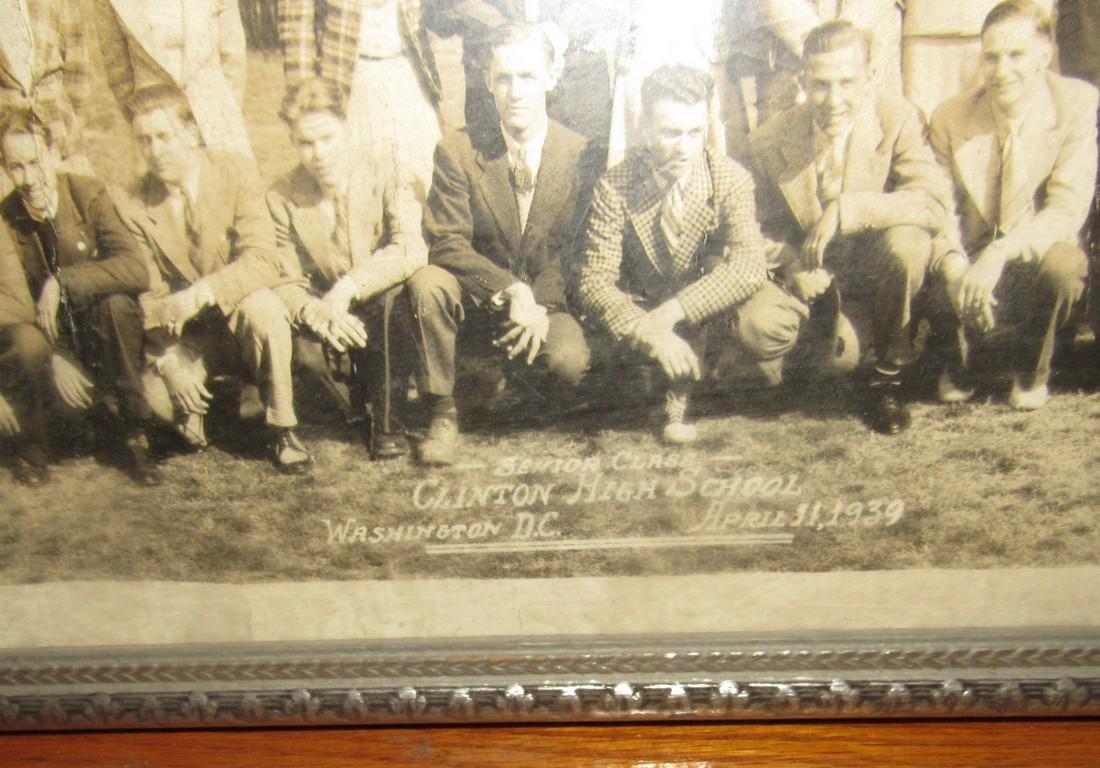 1939 Clinton NJ High School Class Trip Photo - 2