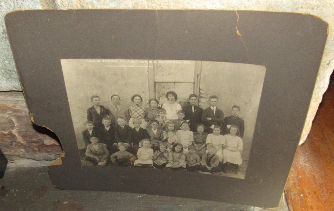 1919 Quakertown NJ School Photo