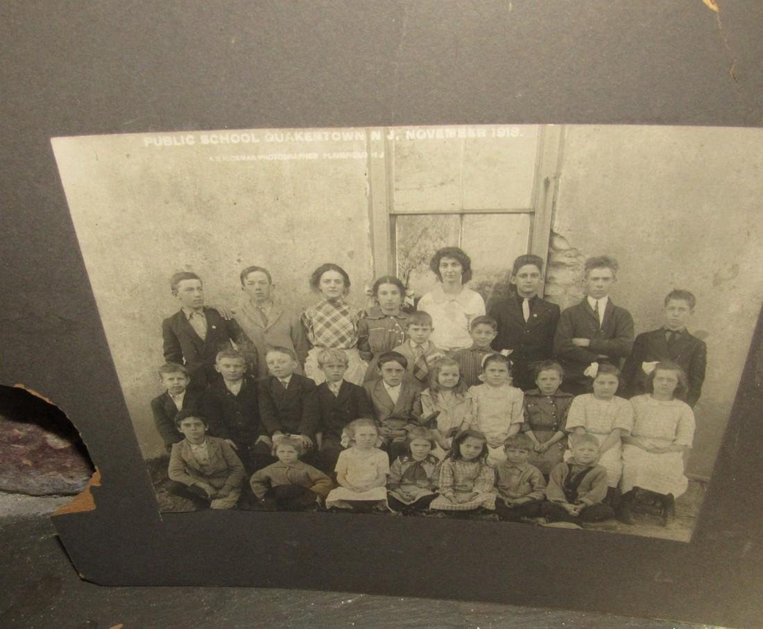 1919 Quakertown NJ School Photo - 2