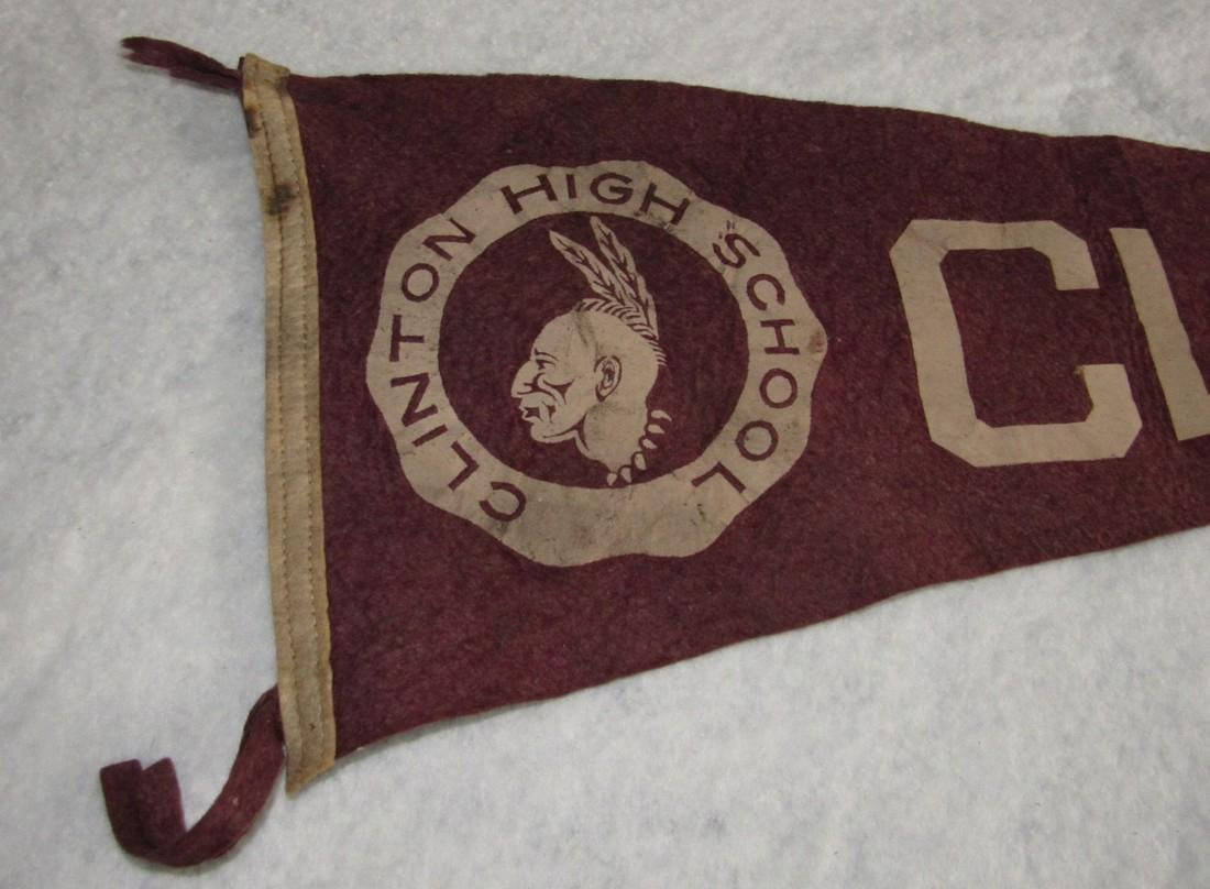Clinton NJ High School Pennant - 2