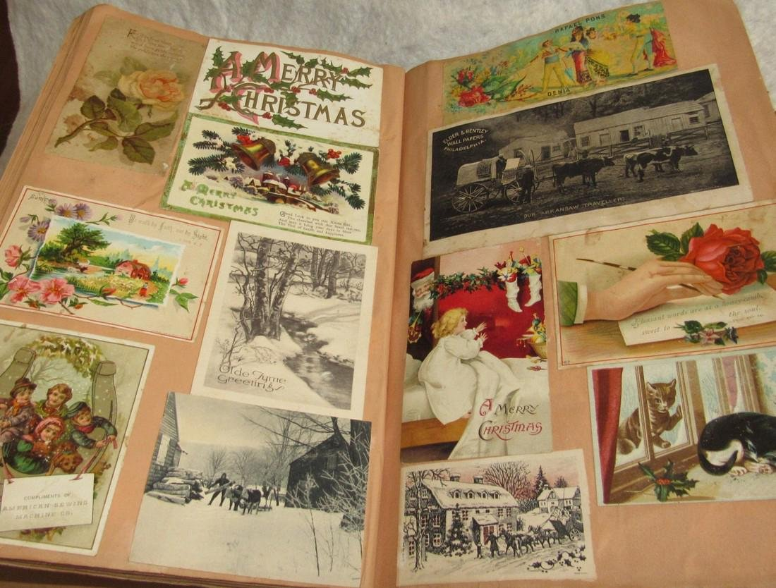 Scrapbook filled with Lithos Literature - 10