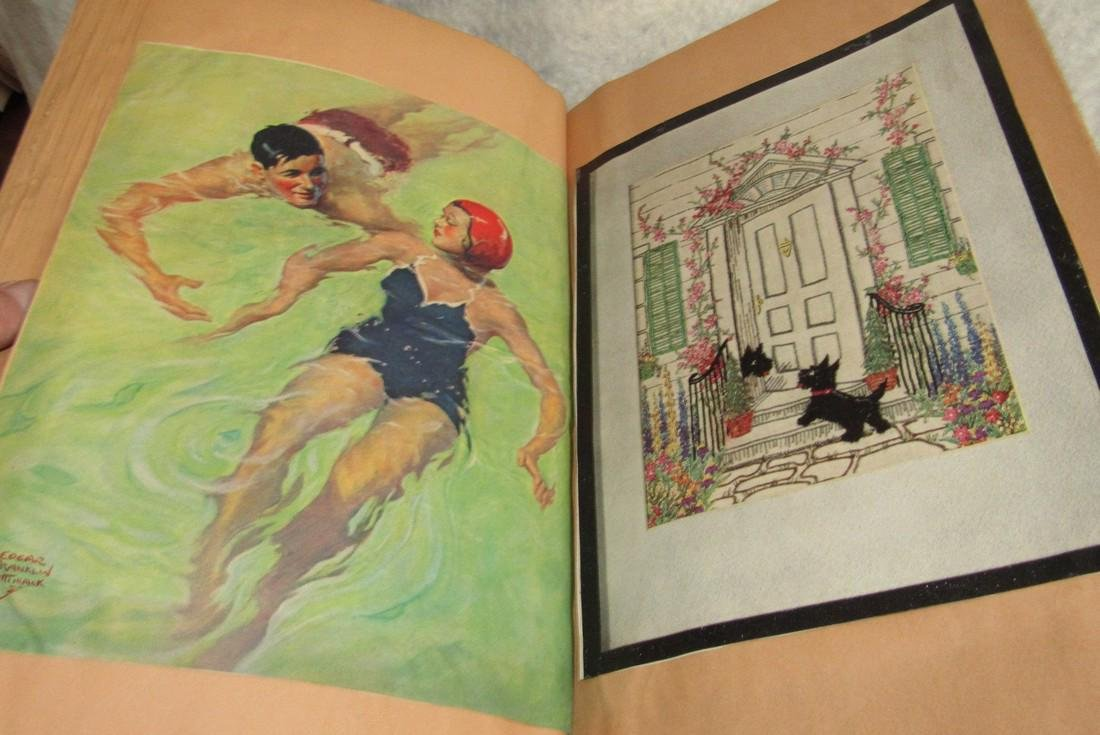 Scrapbook filled with Lithos Literature - 2