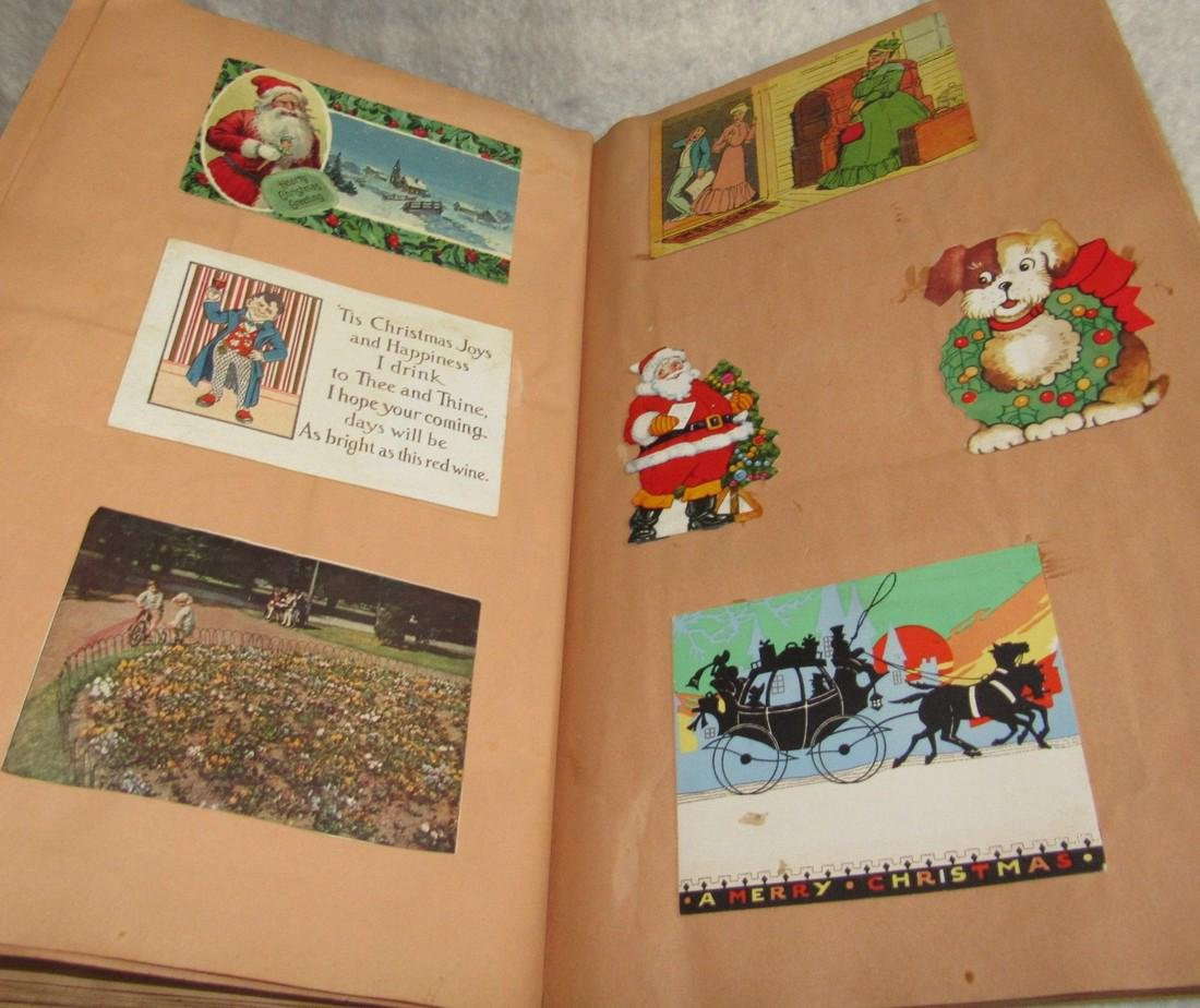 Scrapbook filled with Lithos Literature - 4