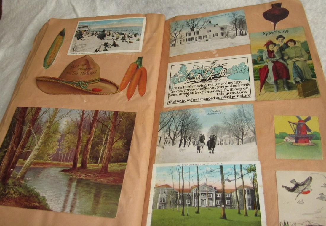 Scrapbook filled with Lithos Literature - 5