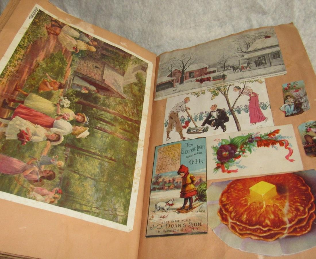 Scrapbook filled with Lithos Literature - 8