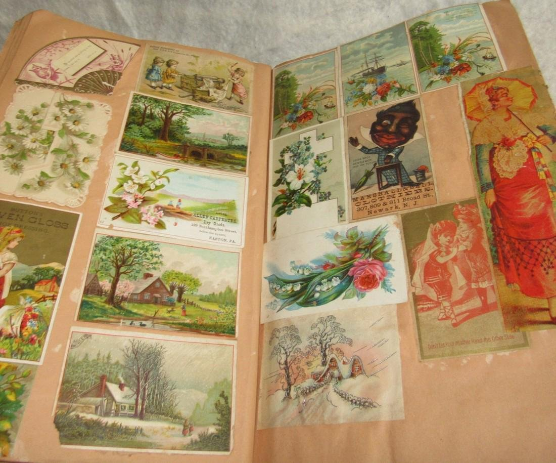 Scrapbook filled with Lithos Literature - 9