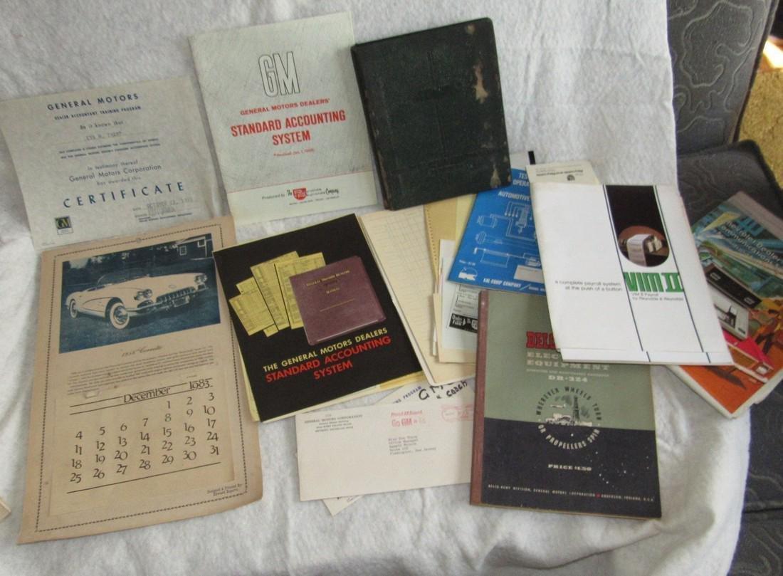 Automotive Literature Lot