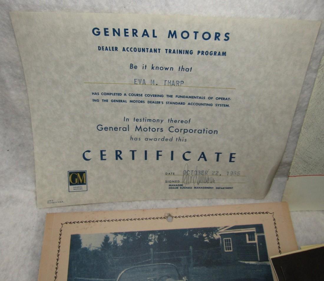 Automotive Literature Lot - 2