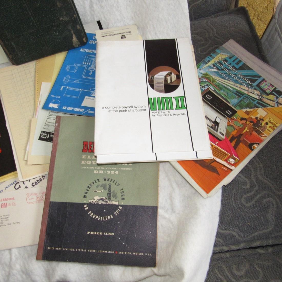 Automotive Literature Lot - 3
