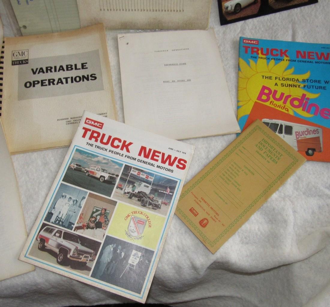 Automotive Literature Lot - 5