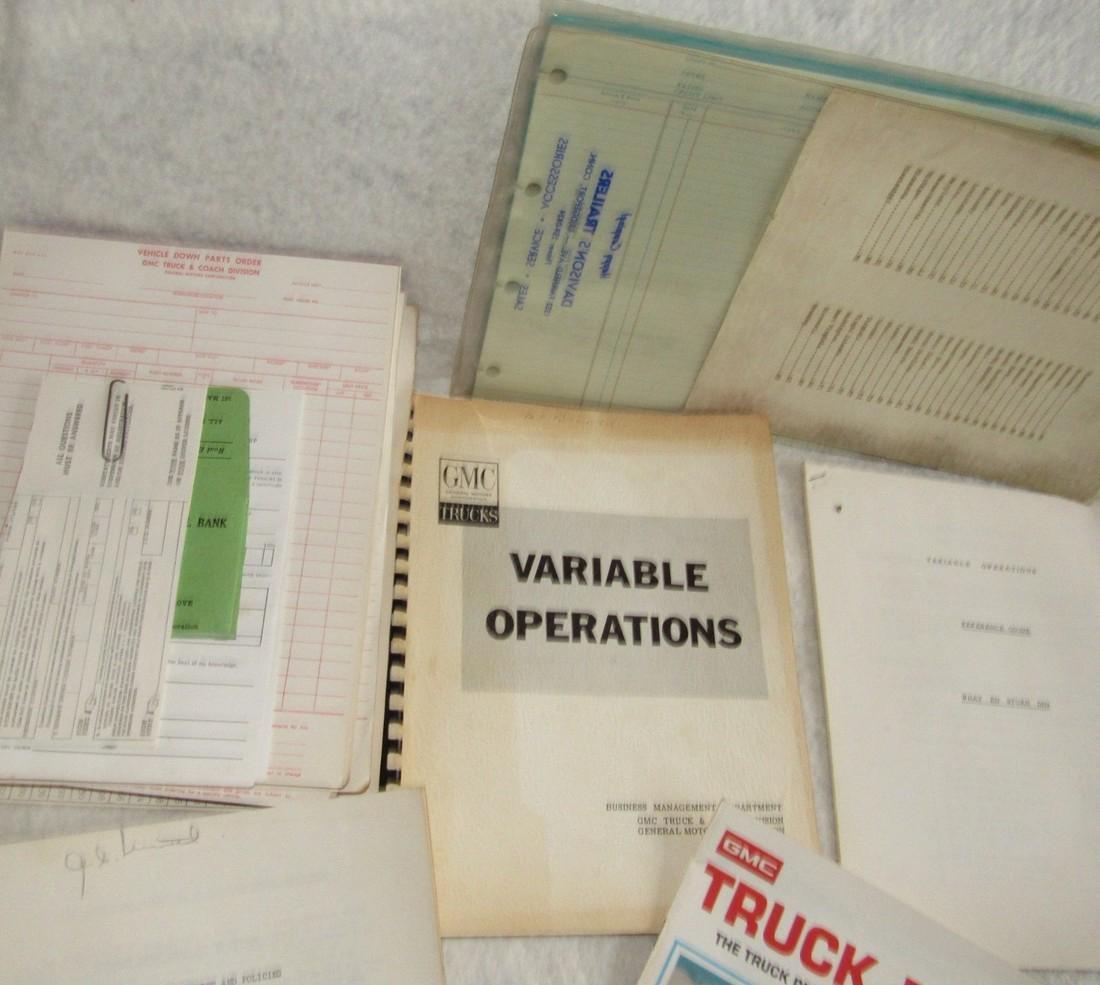 Automotive Literature Lot - 6