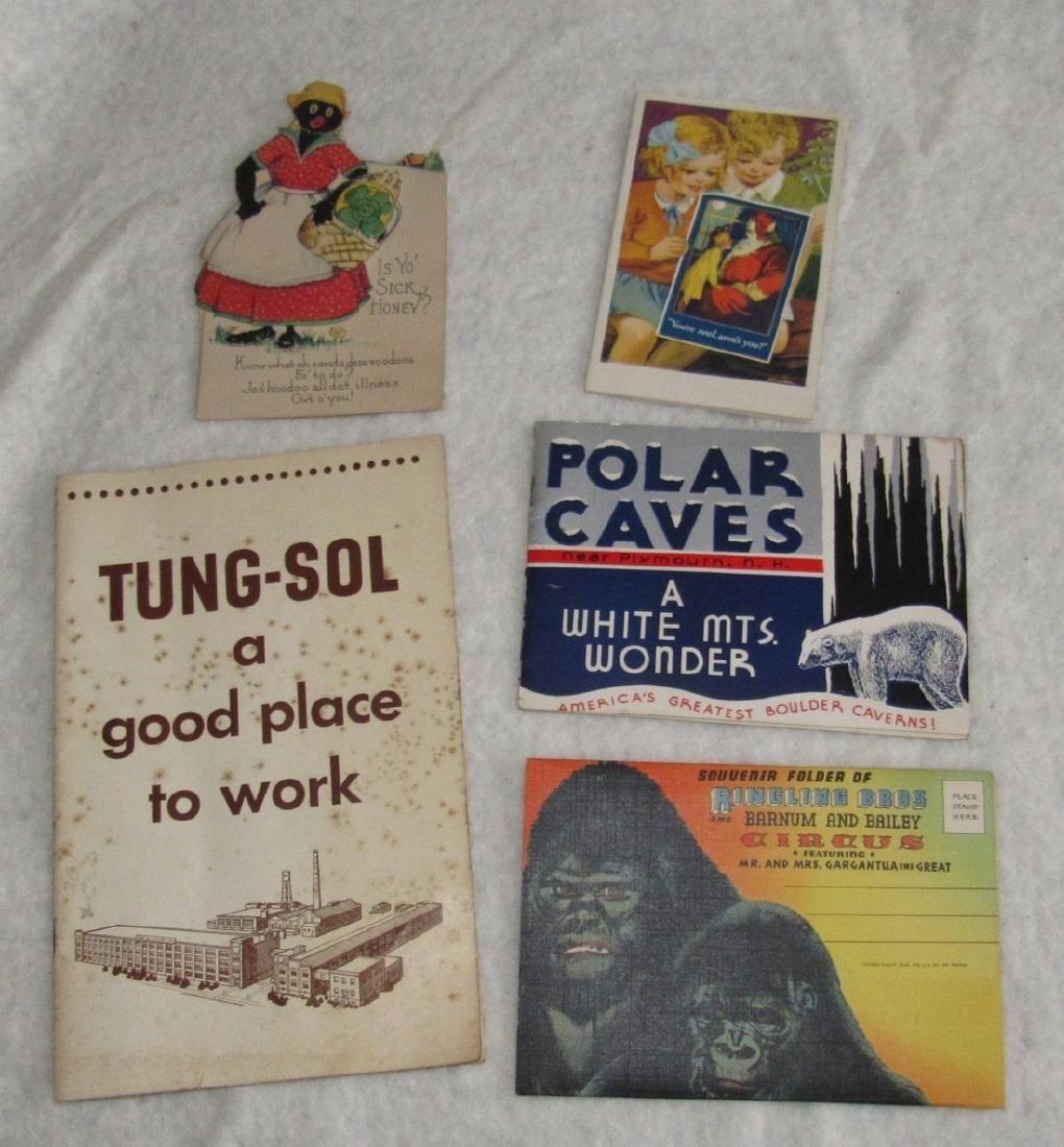 Tung-Sol Catalog Ringling Bros Circus & Cave Lot