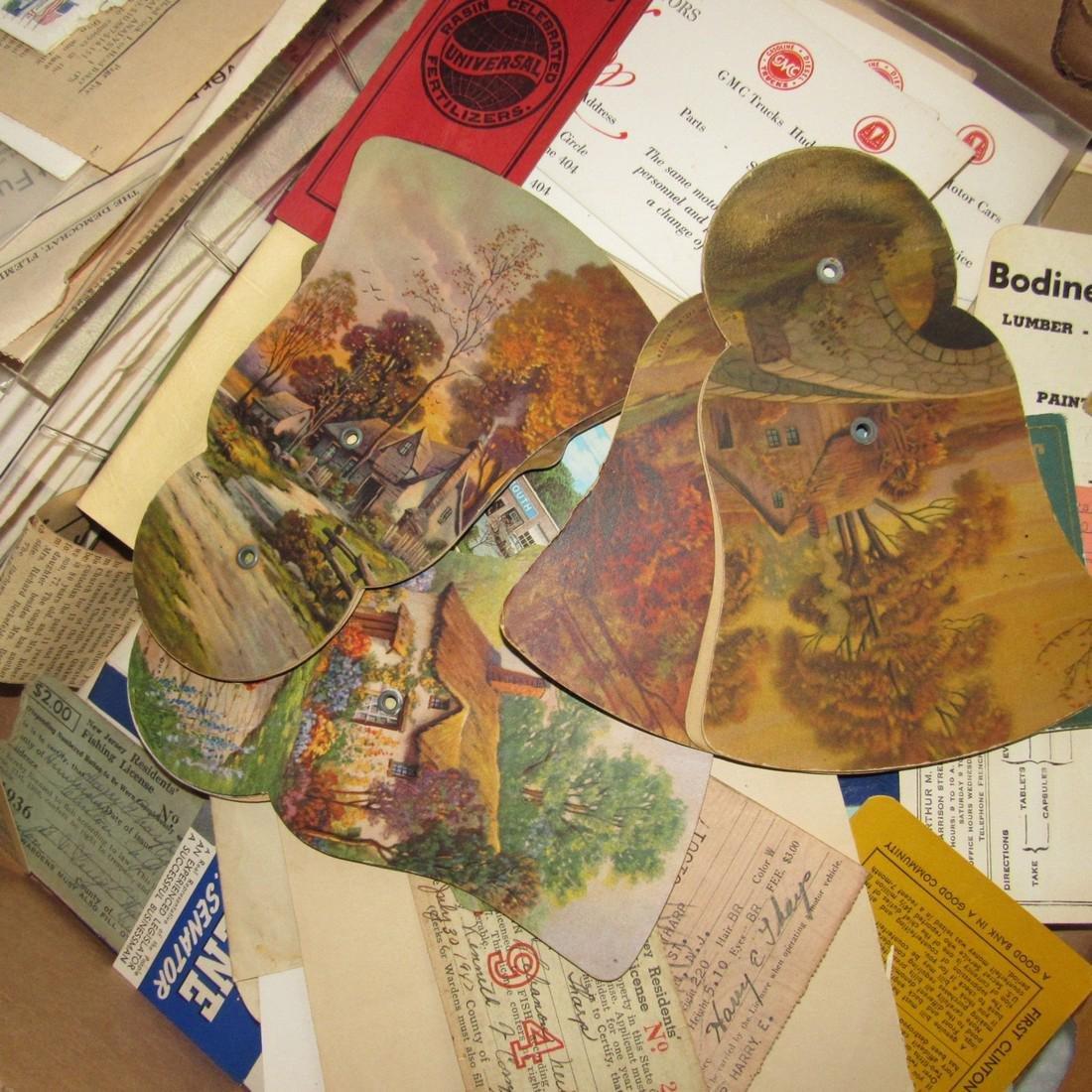 1947 Fishing License Maps Literature Lot - 3