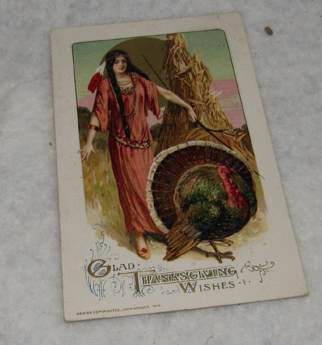 Easter & Thanksgiving Postcards - 8