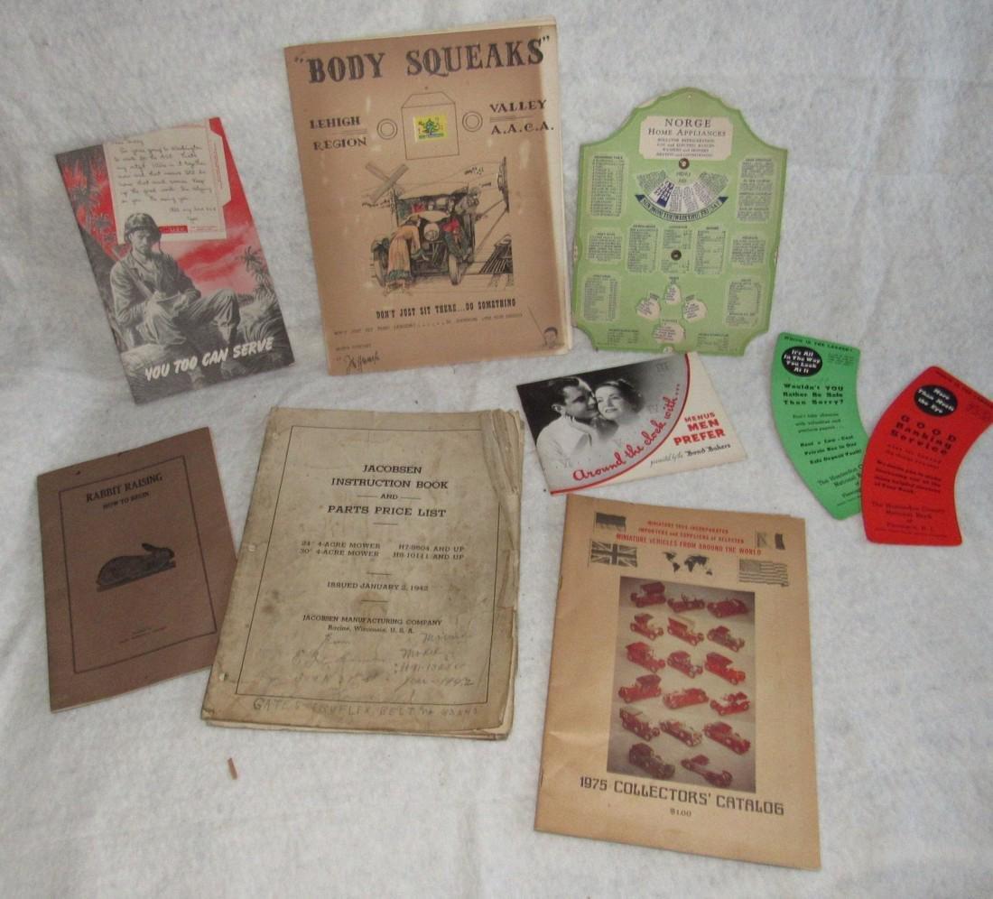 Body Squeaks Lehigh Region & Catalog Lot