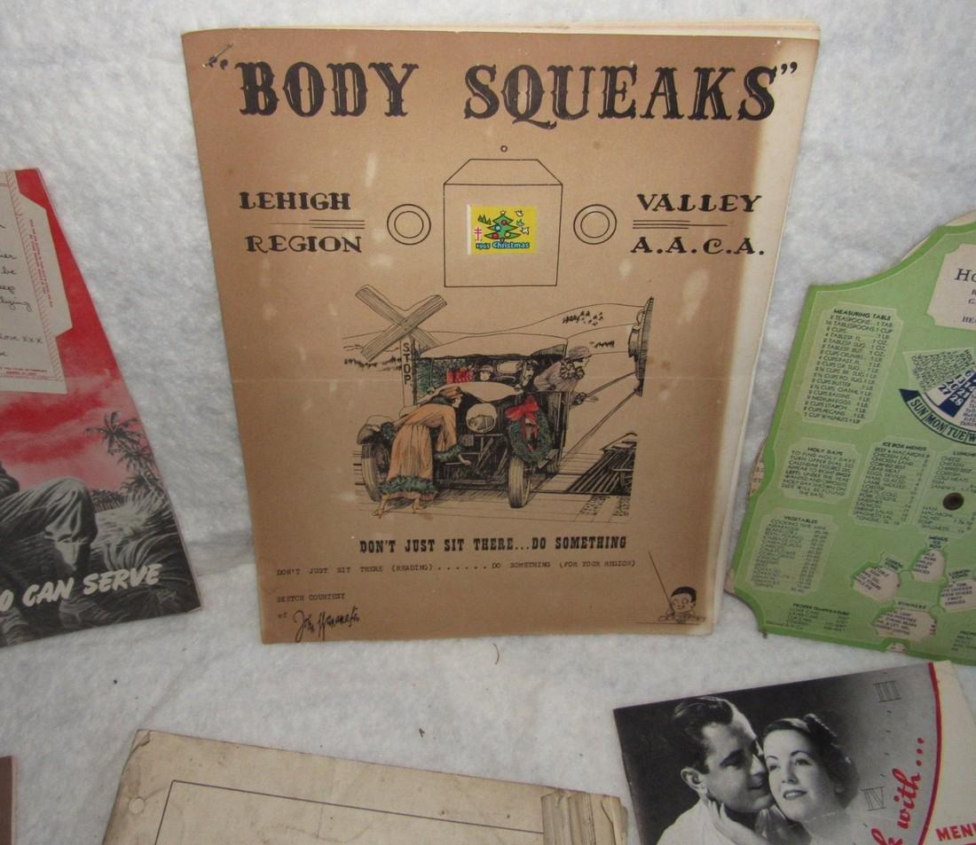 Body Squeaks Lehigh Region & Catalog Lot - 2