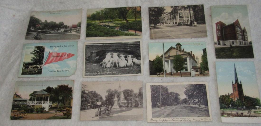 11 Flemington NJ Postcards
