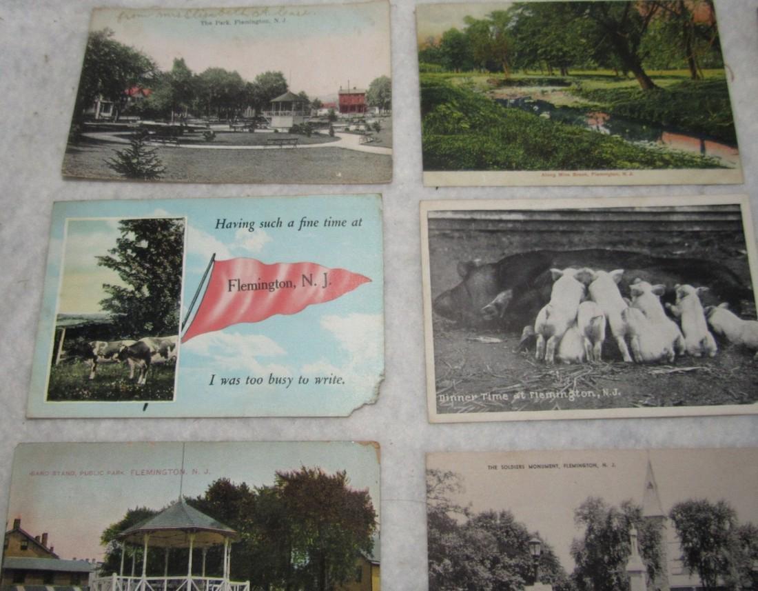 11 Flemington NJ Postcards - 2