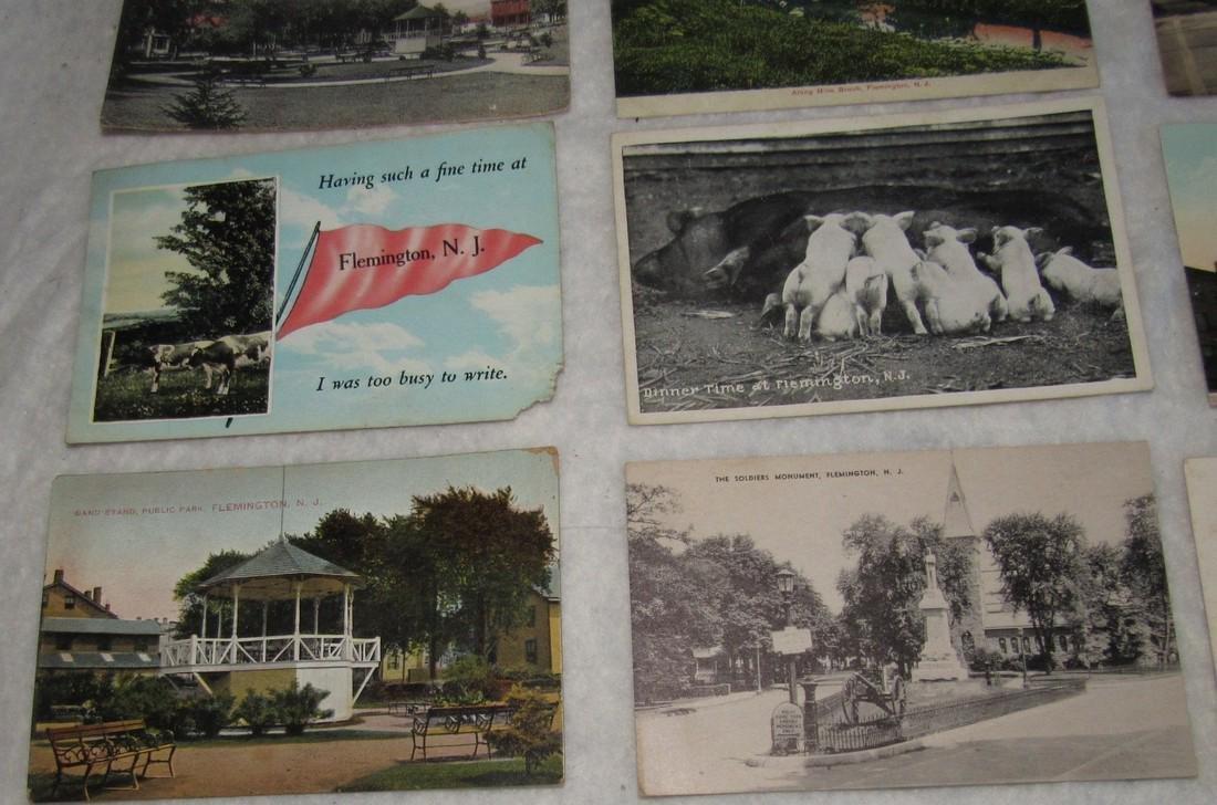 11 Flemington NJ Postcards - 3