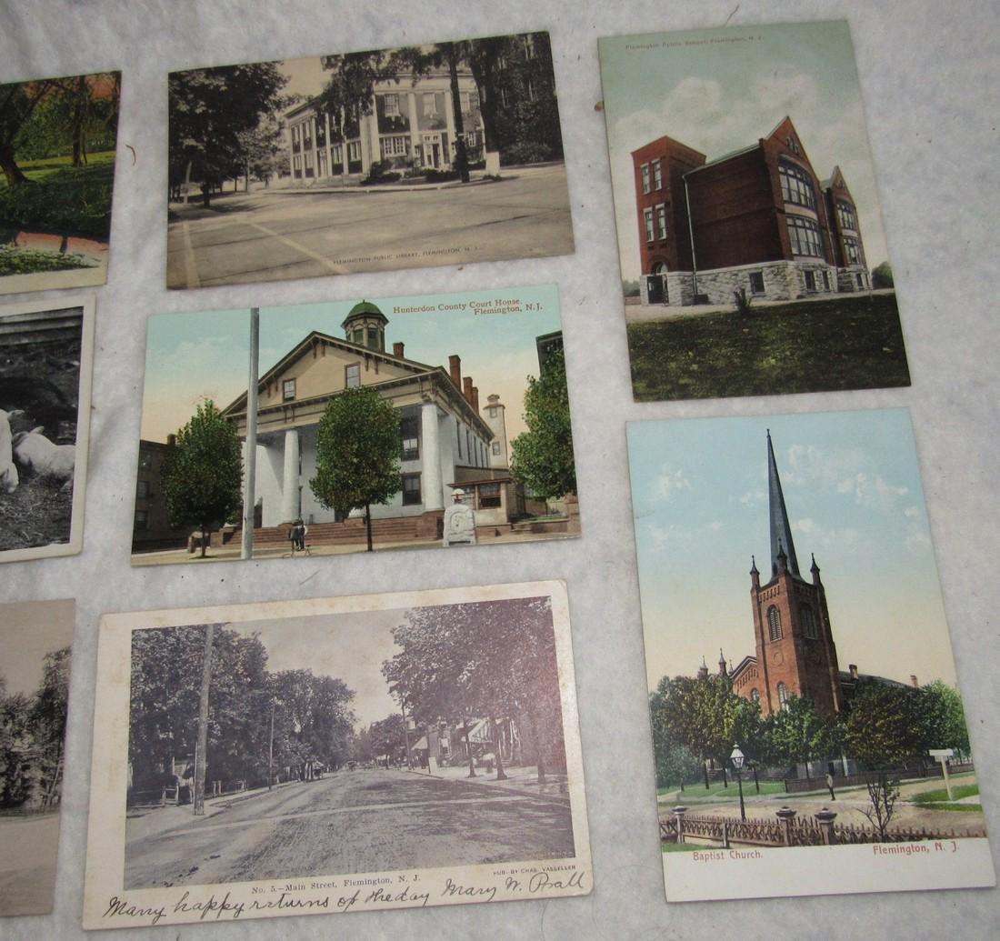 11 Flemington NJ Postcards - 4
