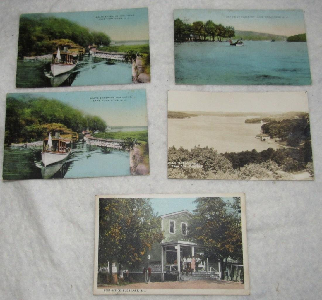 Lake Hopatcong & Budd Lake NJ Postcards - 2