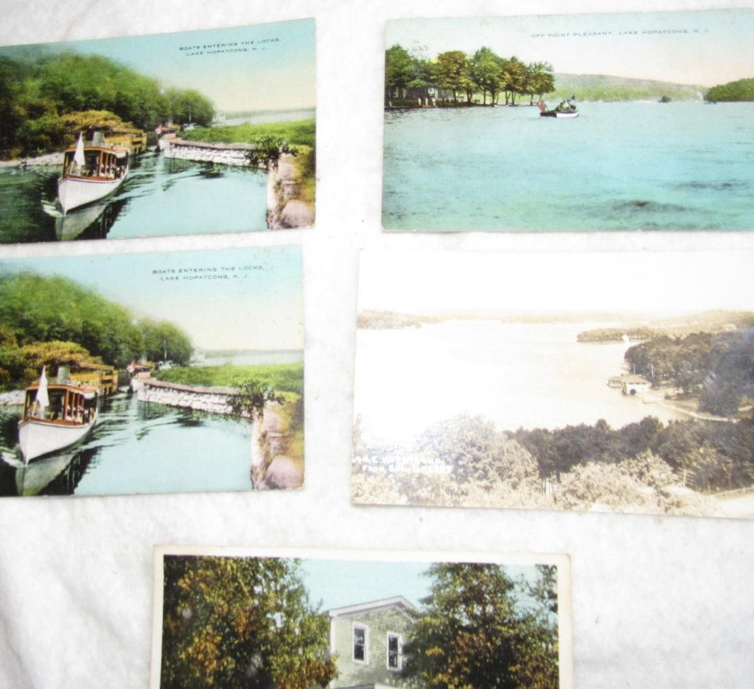 Lake Hopatcong & Budd Lake NJ Postcards - 3