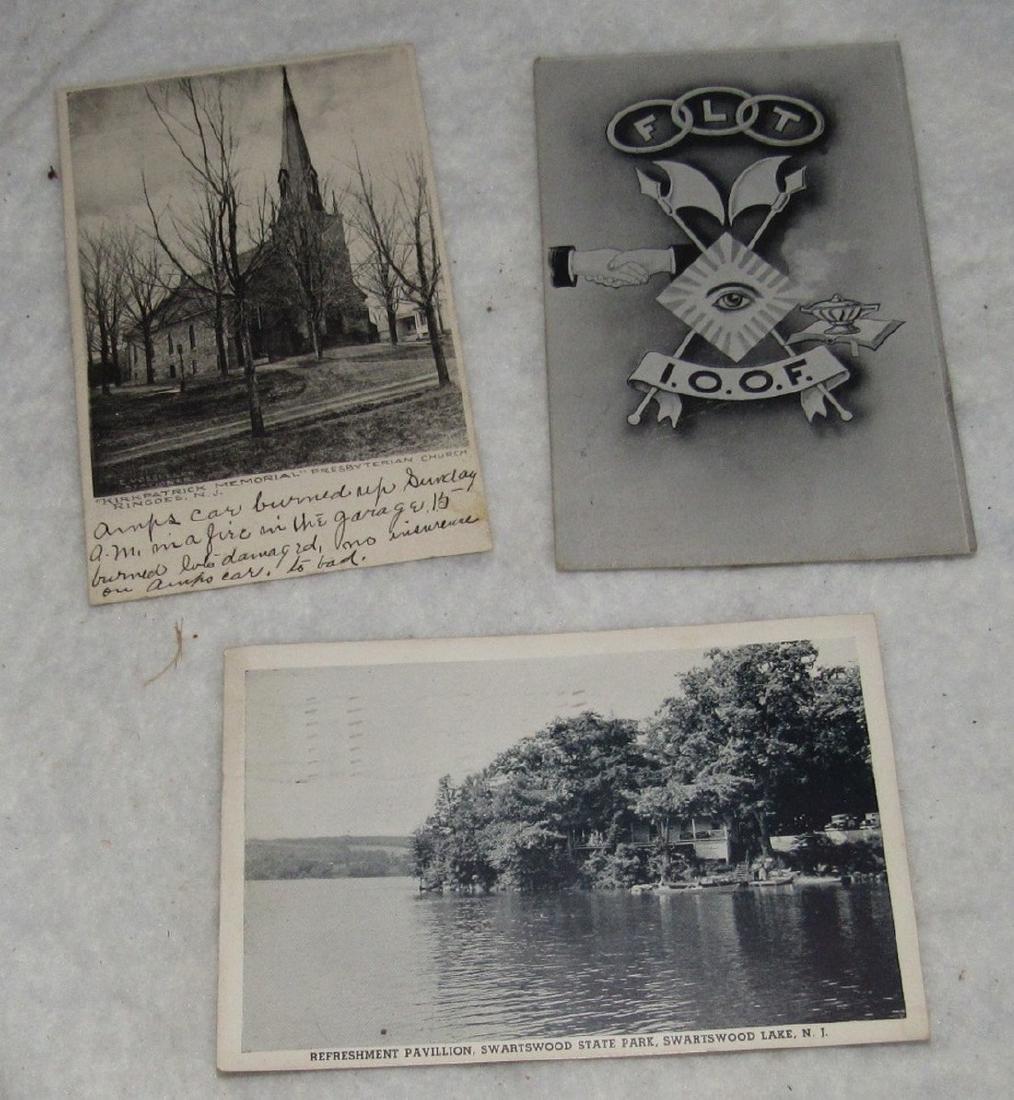 Swartswood Lake Ringoes & Masonic Post Cards