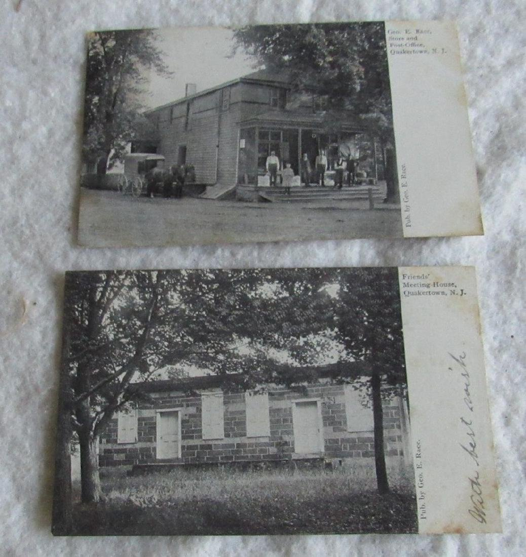 Quakertown NJ Store Post Office Post Cards