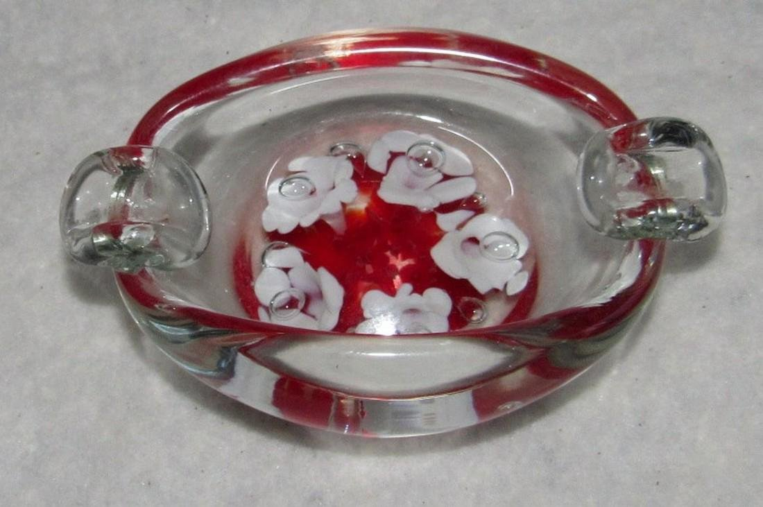 Milano ? Art Glass Ashtray - 2