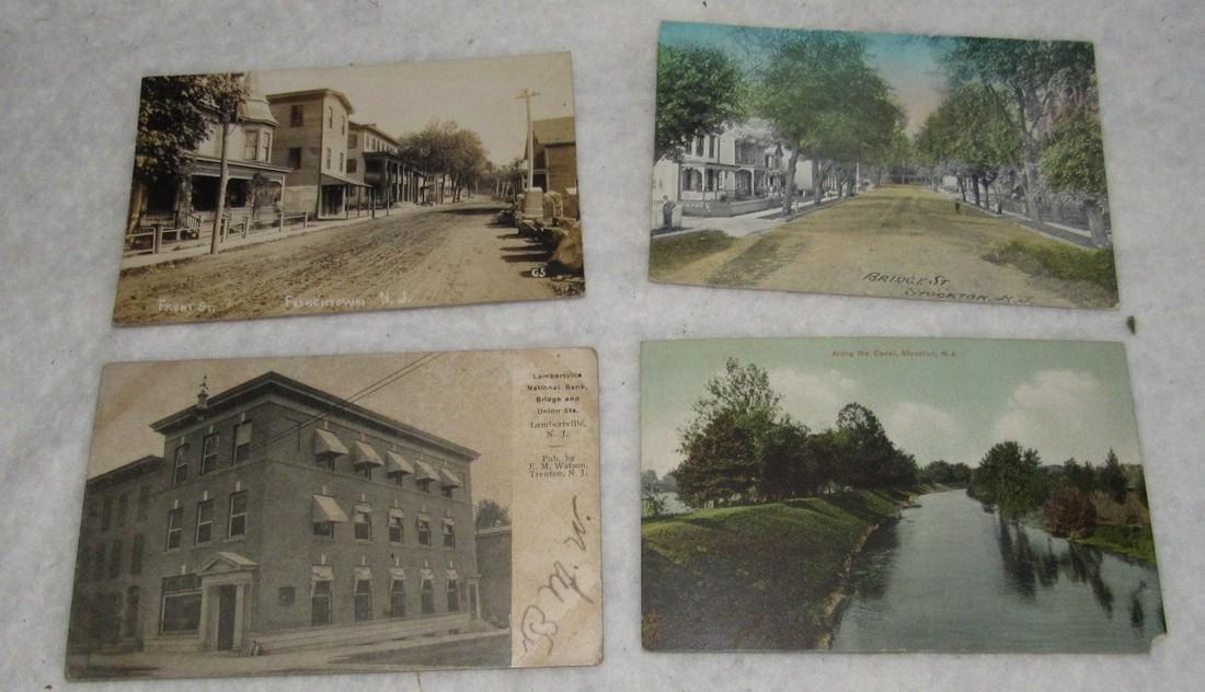 Frenchtown Stockton Lambertville NJ Post Cards