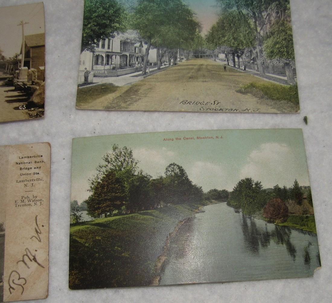 Frenchtown Stockton Lambertville NJ Post Cards - 4