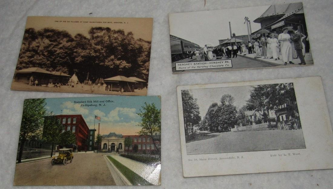 Phillipsburg Annandale Andover NJ Post Cards