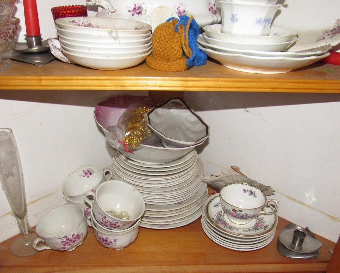 Lot of Misc Dishes & China - 2