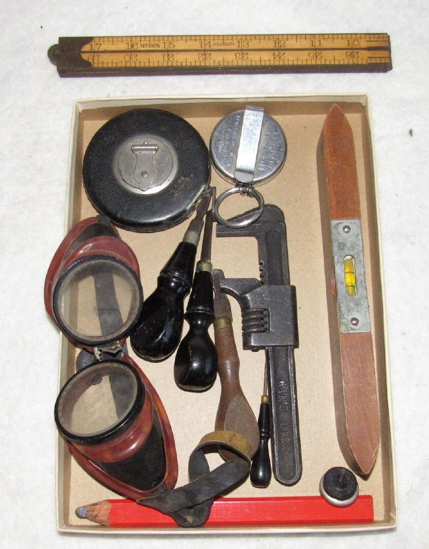 Stanley 66 3/4 Rule Pipe Wrench Tape Lot