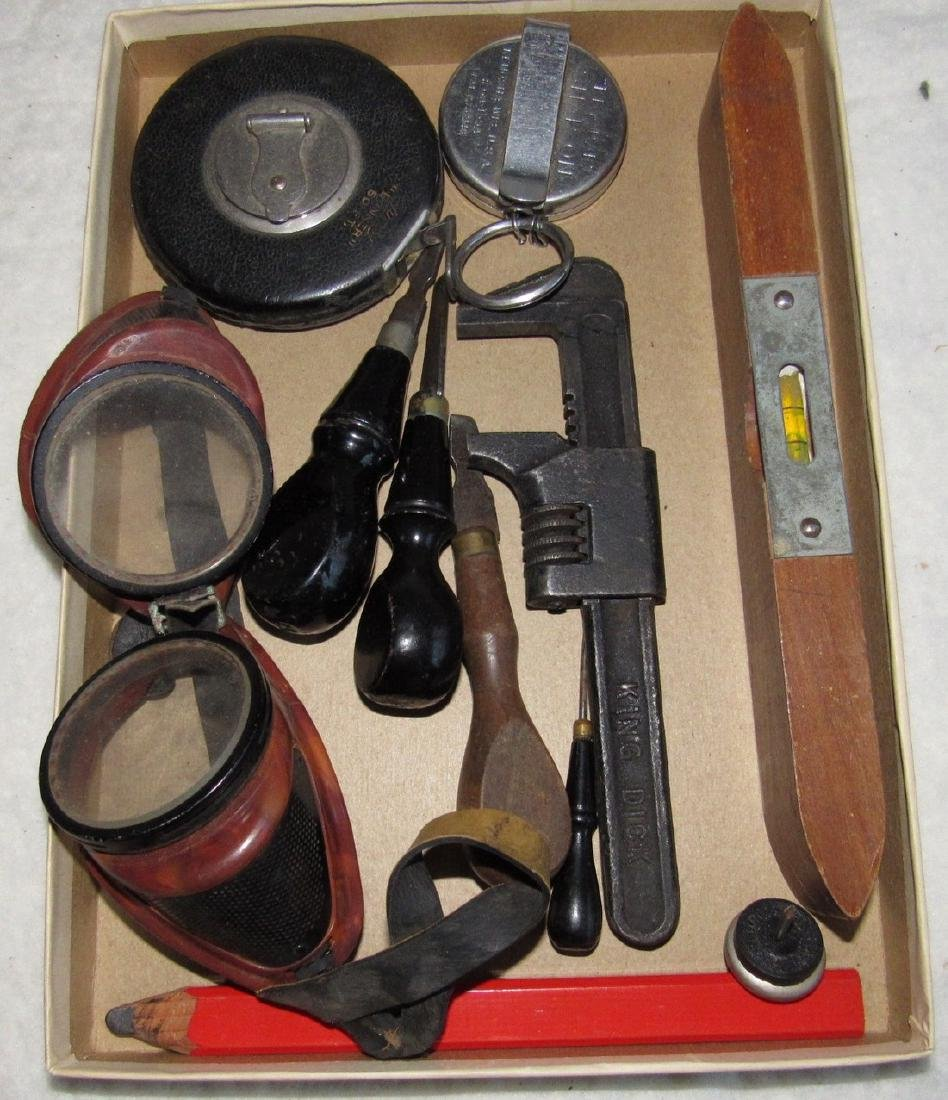 Stanley 66 3/4 Rule Pipe Wrench Tape Lot - 3